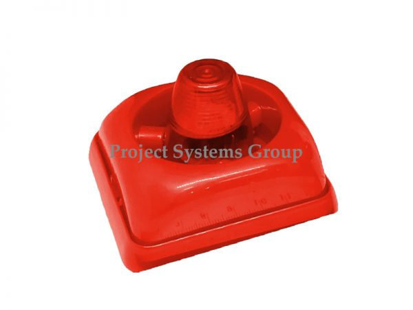Siren With Strobe อุปกรณ์ส่งสัญญาณเสียงและแสง รุ่น KS-FA100A Siren with Strobe ใช้ไฟ 12 - 24 VDC วัสดุทำจากพลาสติกสีแดง รูปร่างกระทัดรัด แข็งแรงทนทาน เหมาะสำหรับติดตั้งบริเวณทางเดินภายในอาคาร, ห้องฉุกเฉิน อาคารสำนักงาน ในบ้าน หน้าห้องน้ำคนพิการ