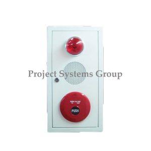 "Combination Box ""ชุดอุปกรณ์แจ้งเหตุเพลิงไหม้ รุ่น CP-400 Combination Box ยี่ห้อ Cemen ประกอบด้วย 1. ตู้ มี 2 สี ( สีแดง , สีขาว ) 2. Indicating Lamp AH-9719 3. Fire Alarm Bell S-332 4. Manual Station S-336"