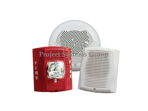 System Sensor SpectrAlert Advance SPSR Red Wall Speaker Strobe เป็นแฟลชลำโพงสีแดงสำหรับติดตั้งผนังพร้อมการตั้งค่าแฟลช SPSR is a red speaker strobe for wall installation with selectable strobe settings of 15, 15/75, 30, 75, 95, 110 and 115 cd.