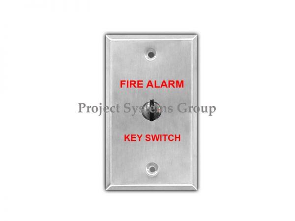 Stainless Plate with Key Switch สวิทซ์กุญแจ รุ่น ST-KEY Plate with Key Switch วัสดุทำจากสแตนเลส