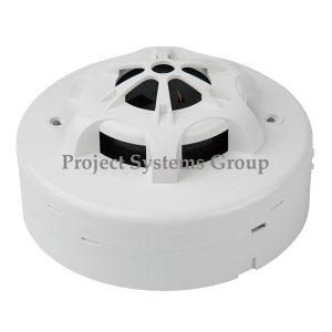 Combination Smoke and Heat Detector ตัวตรวจจับควันและตรวจจับความร้อนในตัวเดียวกัน รุ่น S-320 Combination Smoke and Heat Detector ยี่ห้อ CEMEN อุปกรณ์ตรวจจับควันไฟ และ ตรวจจับความร้อน ในตัวเดียวกัน มีไดร์คอนแทกแยกสำหรับใช้กับระบบกันขโมย วัสดุเป็นพลาสติกทนความร้อนสีขาว ใช้ได้กับไฟ 12 ~ 24 โวล์ท กินกระแสไฟตอนสแตนบาย 35 ~ 85 ไมโครแอมป์ และตอนทำอลามกินกระแสไฟ 45 มิลลิแอมป์ มีไฟ LED โชว์การทำงาน สถานะสแตนบายจะมีไฟ LED สีเขียวกระพริบ สถานะอลามจะมีไฟ LED สีแดงติดค้าง